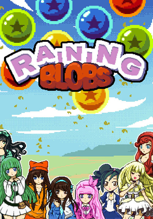 Raining Blobs - Cover / Packshot