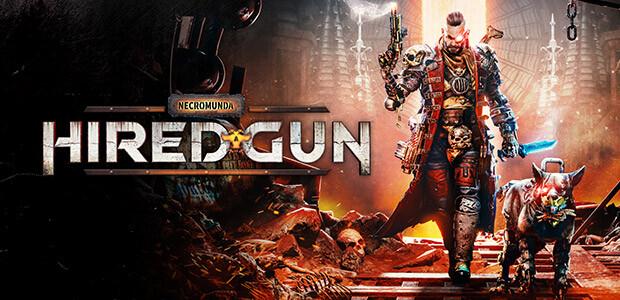 Necromunda: Hired Gun - Cover / Packshot