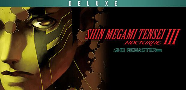 Shin Megami Tensei III Nocturne HD Remaster Digital Deluxe Edition - Cover / Packshot