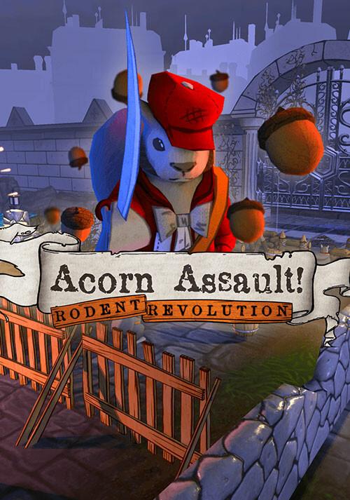 Acorn Assault: Rodent Revolution - Cover / Packshot