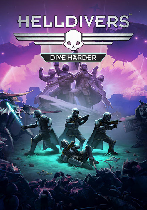 HELLDIVERS Dive Harder Edition - Cover / Packshot