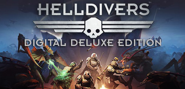 HELLDIVERS Digital Deluxe Edition - Cover / Packshot
