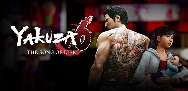 Yakuza 6: The Song of Life - Cover / Packshot