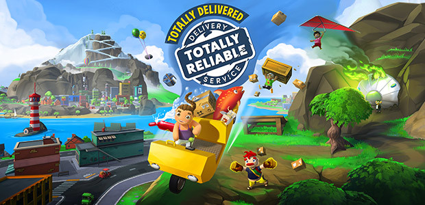 Totally Reliable Delivery Service - Cover / Packshot