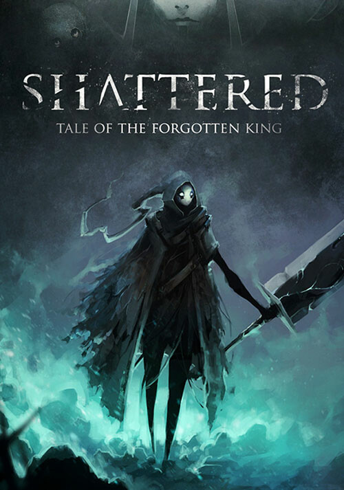 Shattered - Tale of the Forgotten King - Cover / Packshot
