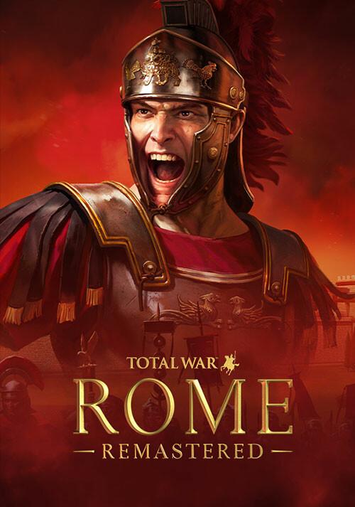 Total War: ROME REMASTERED - Cover / Packshot