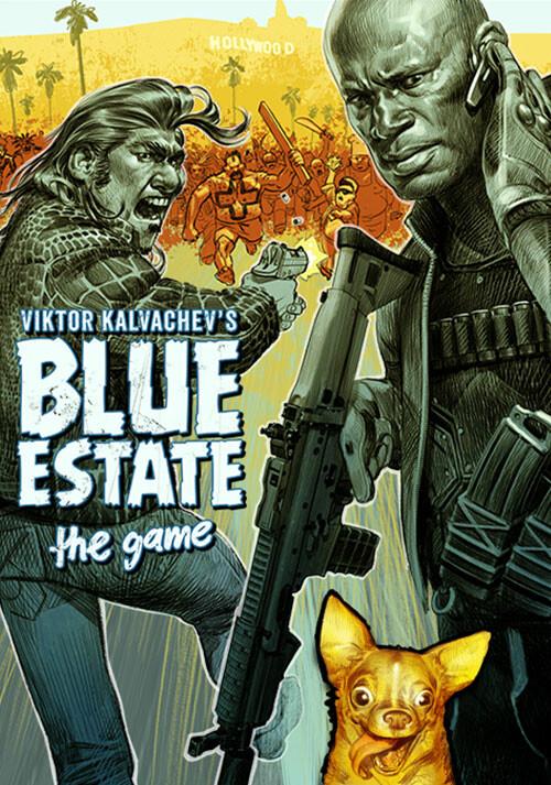Blue Estate The Game - Cover / Packshot