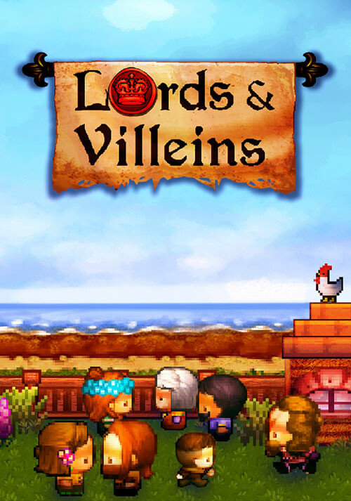 Lords and Villeins - Cover / Packshot