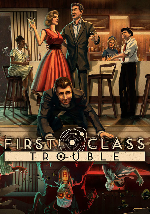 First Class Trouble - Cover / Packshot