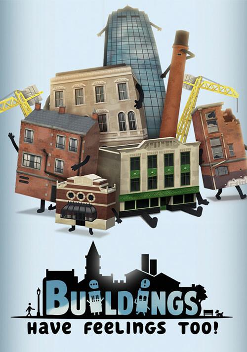 Buildings Have Feelings Too! - Cover / Packshot