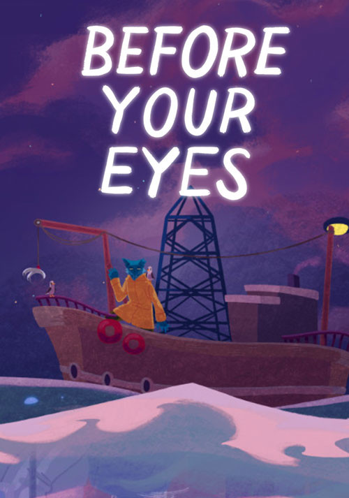 Before Your Eyes - Cover / Packshot