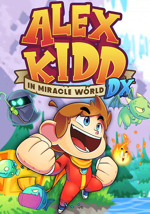 Alex Kidd in Miracle World DX - Cover / Packshot