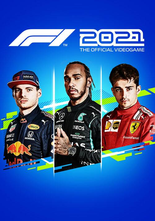 F1 2021 - Standard Edition - Cover / Packshot