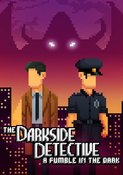 The Darkside Detective: A Fumble in the Dark - Cover / Packshot