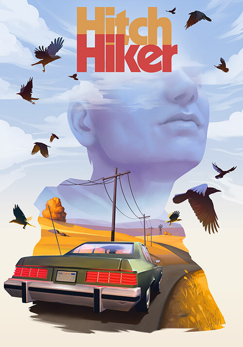 Hitchhiker - A Mystery Game - Cover / Packshot