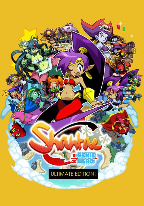 Shantae: Half-Genie Hero Ultimate Edition - Cover / Packshot