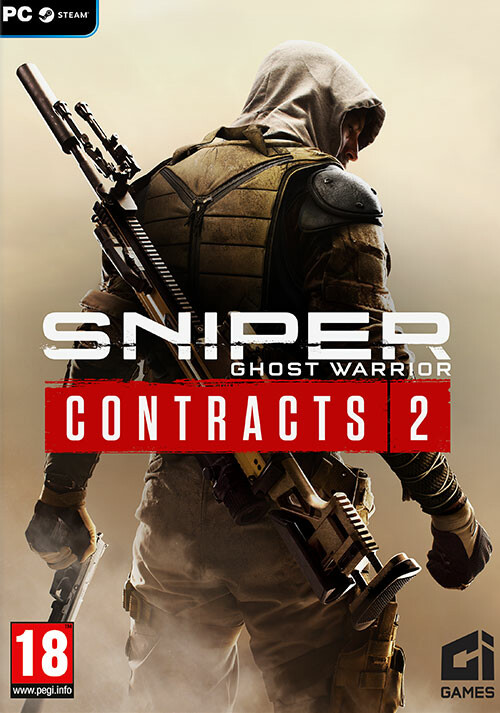 Sniper Ghost Warrior Contracts 2 - Cover / Packshot