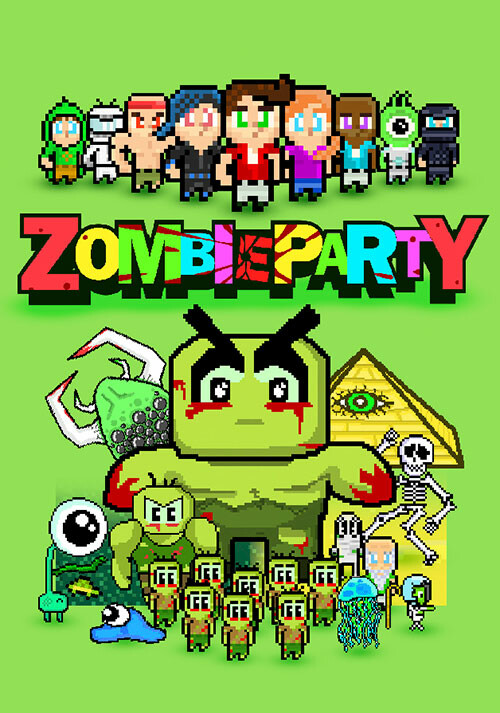 Zombie Party - Cover / Packshot