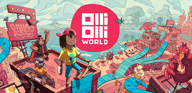 OlliOlli World - Cover / Packshot