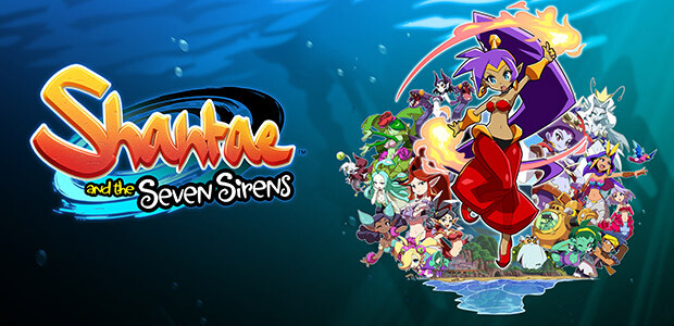 Shantae and the Seven Sirens - Cover / Packshot