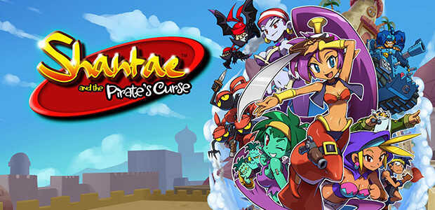 Shantae and the Pirate's Curse - Cover / Packshot