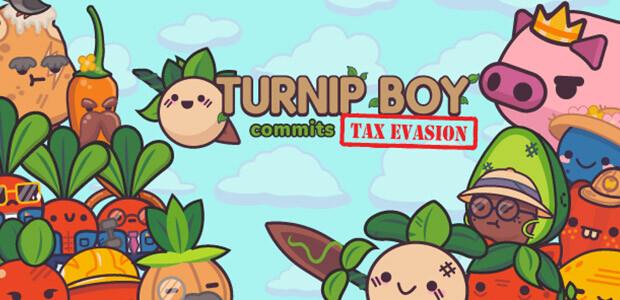 Turnip Boy Commits Tax Evasion - Cover / Packshot