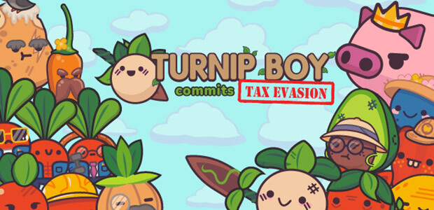 Turnip Boy Commits Tax Evasion - Cover / Packshot