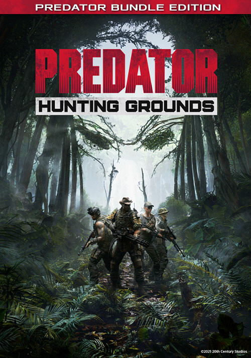 Predator: Hunting Grounds - Predator Bundle Edition - Cover / Packshot