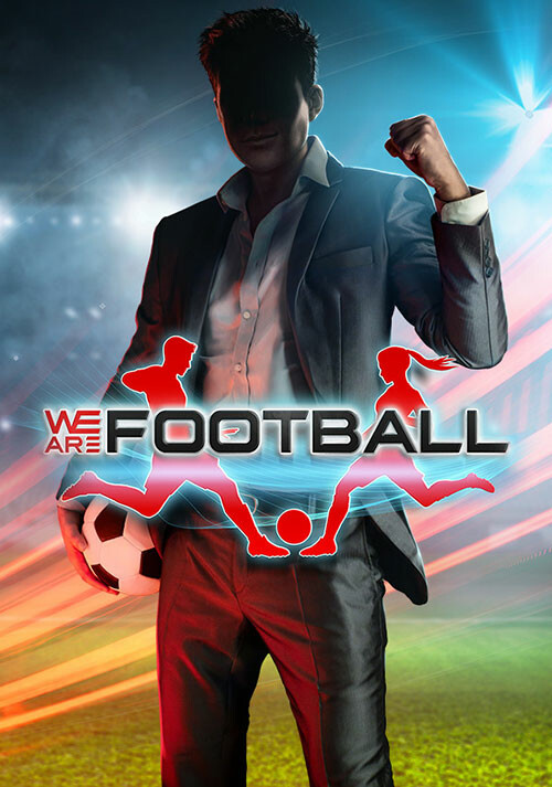 WE ARE FOOTBALL - Cover / Packshot