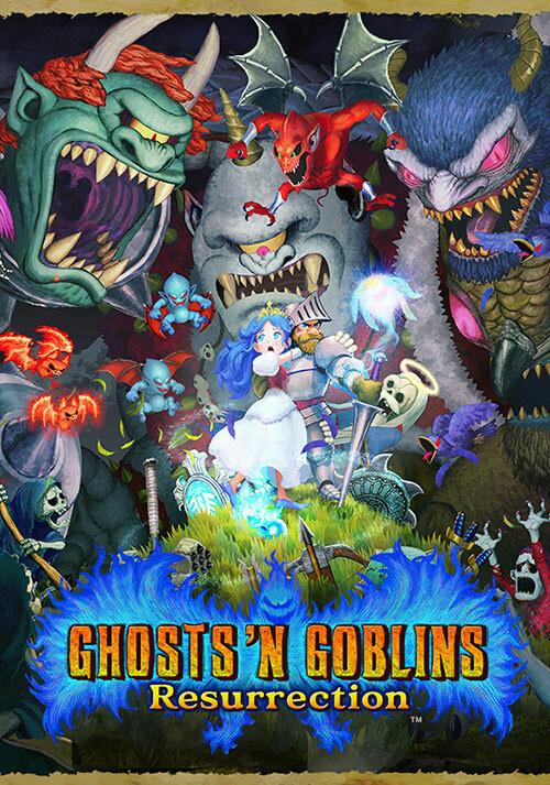Ghosts 'n Goblins Resurrection - Cover / Packshot