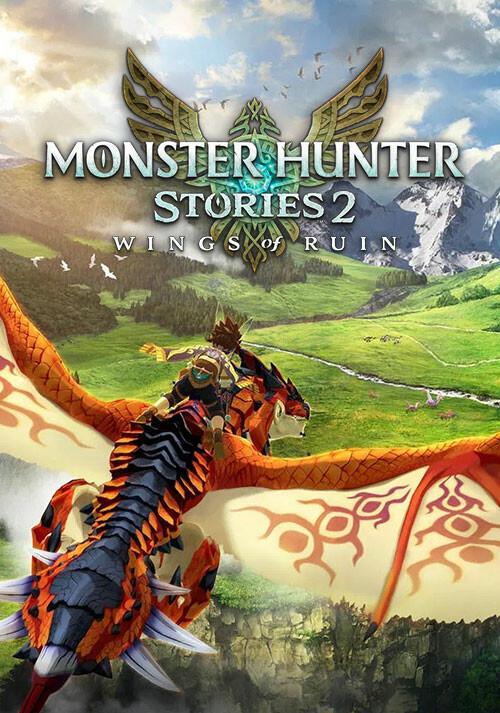 Monster Hunter Stories 2: Wings of Ruin - Cover / Packshot