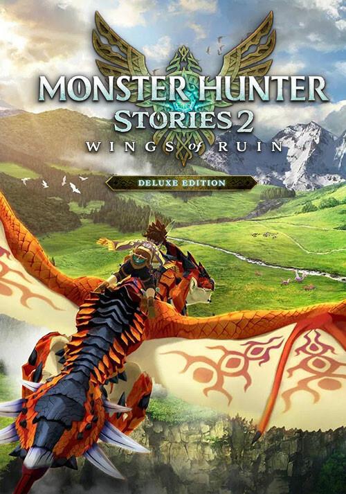 Monster Hunter Stories 2: Wings of Ruin Deluxe Edition - Cover / Packshot