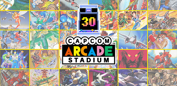 CAPCOM ARCADE STADIUM PACKS 1, 2, AND 3 - Cover / Packshot