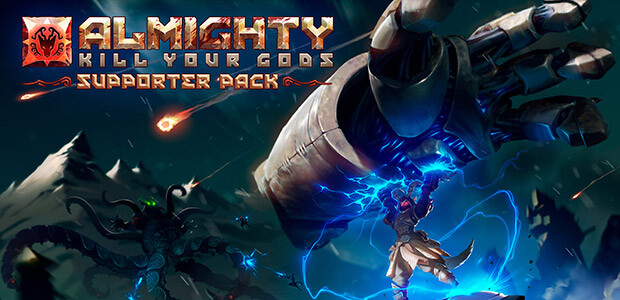 Almighty: Kill Your Gods - Supporter Pack - Cover / Packshot