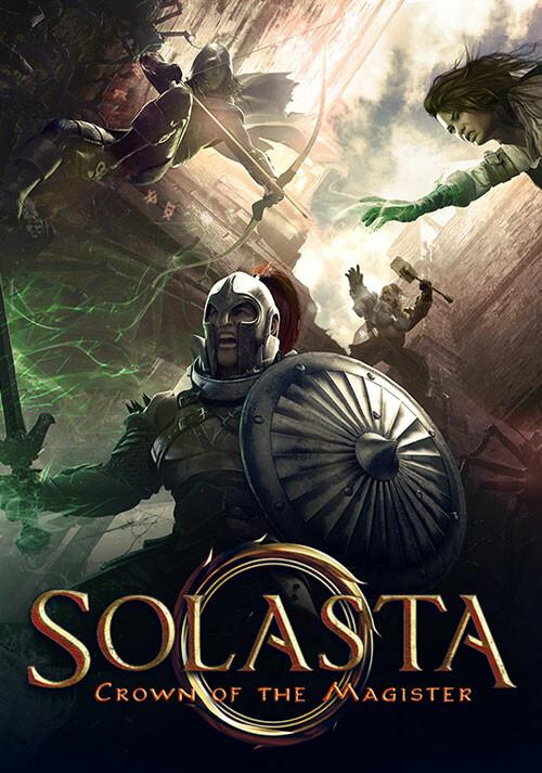 Solasta: Crown of the Magister (GOG) - Cover / Packshot