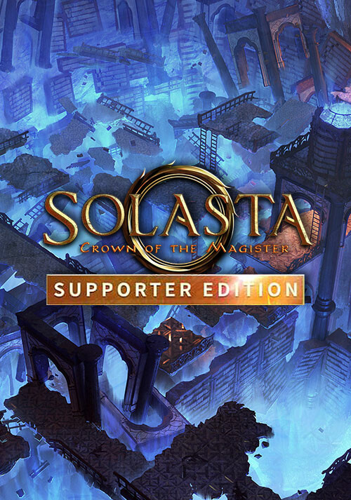 Solasta: Crown of the Magister Supporter Edition - Cover / Packshot