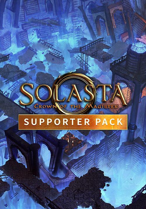 Solasta: Crown of the Magister - Supporter Pack - Cover / Packshot