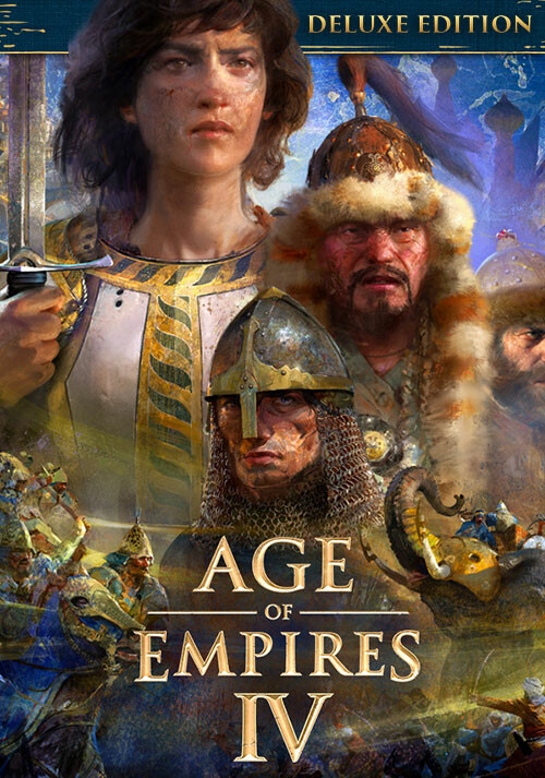 Age of Empires IV Deluxe - Cover / Packshot