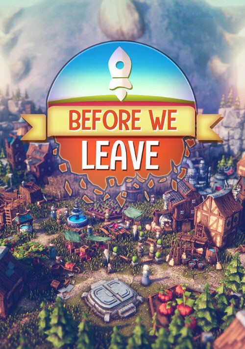 Before We Leave - Cover / Packshot