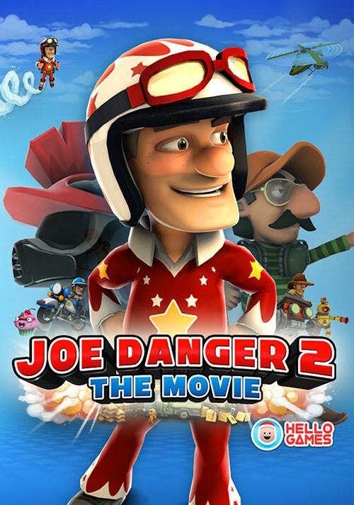 Joe Danger 2: The Movie - Cover / Packshot