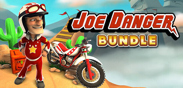 Joe Danger + Joe Danger 2: The Movie - Cover / Packshot