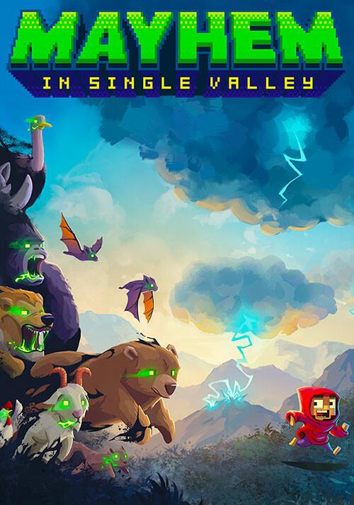 Mayhem in Single Valley - Cover / Packshot