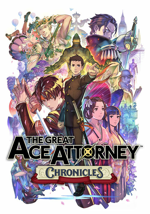 The Great Ace Attorney Chronicles - Cover / Packshot