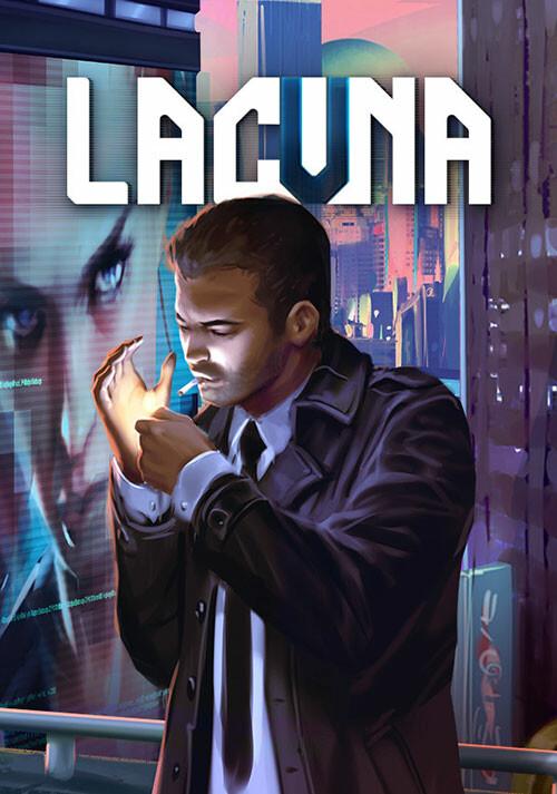Lacuna – A Sci-Fi Noir Adventure - Cover / Packshot