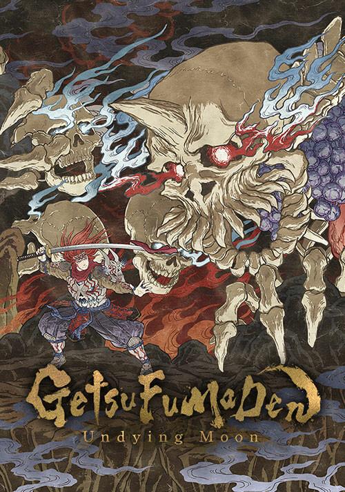 GetsuFumaDen: Undying Moon - Cover / Packshot