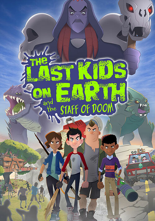 Last Kids on Earth and the Staff of Doom - Cover / Packshot