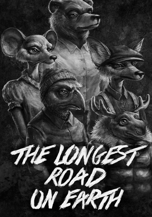 The Longest Road on Earth - Cover / Packshot