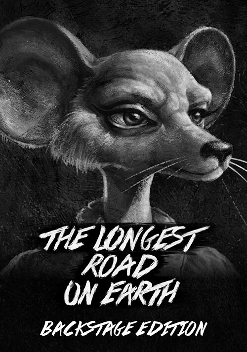 The Longest Road on Earth Backstage Edition - Cover / Packshot