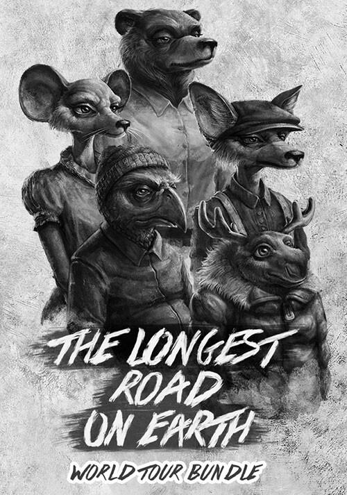 The Longest Road on Earth World Tour Bundle - Cover / Packshot