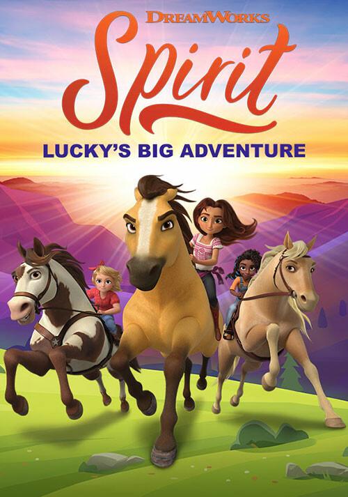 DreamWorks Spirit Lucky's Big Adventure - Cover / Packshot